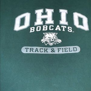Ohio university track and field T-shirt size XL